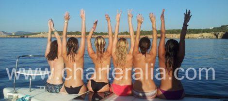 Addio al nubilato a Ibiza