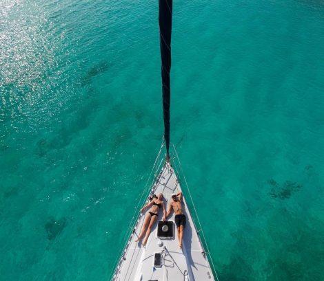 Barca a vela a noleggio a Ibiza e Formentera