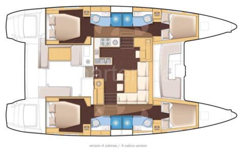 Lageplan-des-Katamarans-Lagoon-450