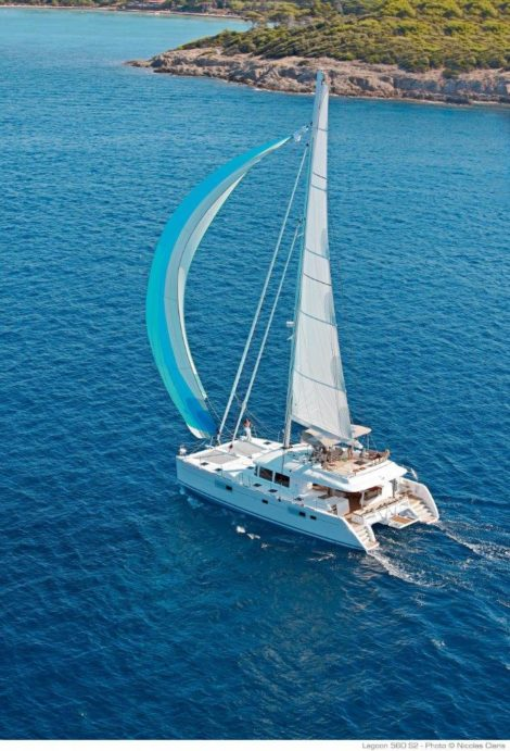 Lagoon 560 zum miete ein Boot in Ibiza