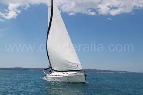 Segelbootcharter in Ibiza am segeln