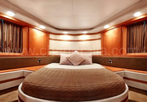 Doppelkabine der Baia Aqua 54 Yacht