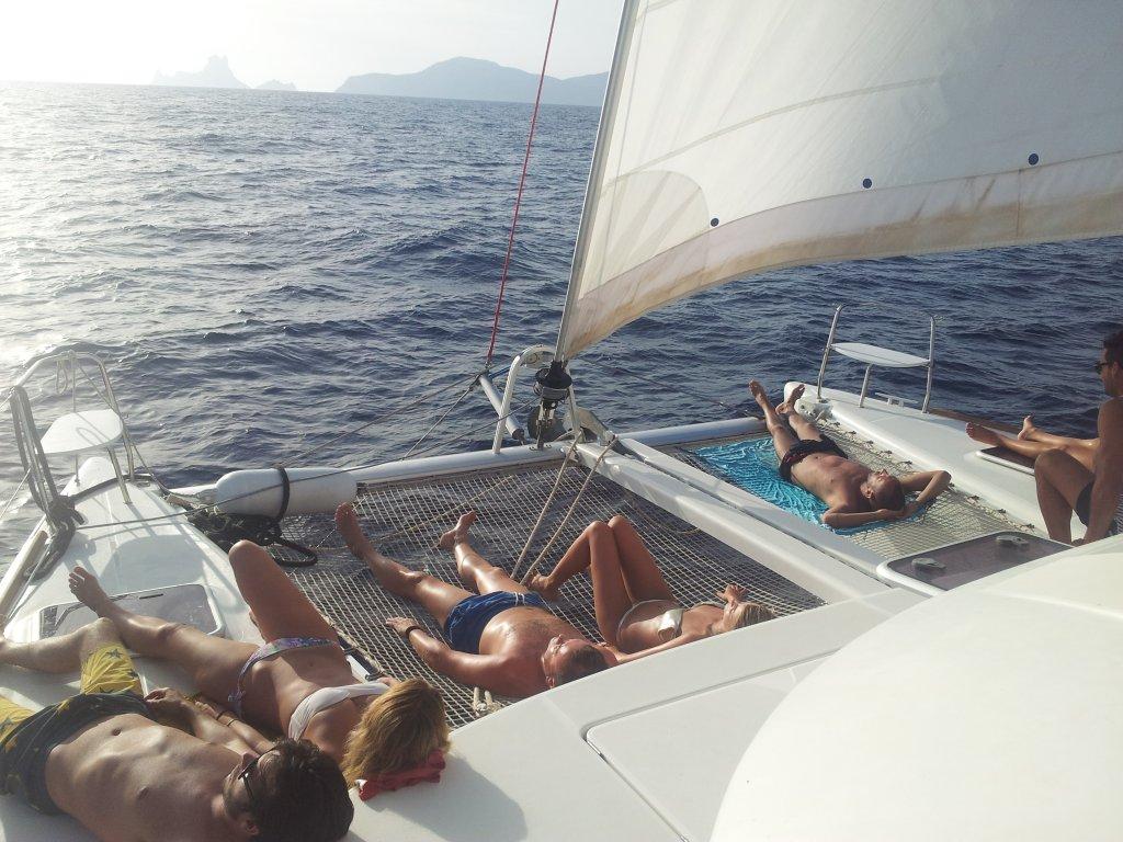 Ibiza boat trips, Ibiza to Formentera on sailing boat ...