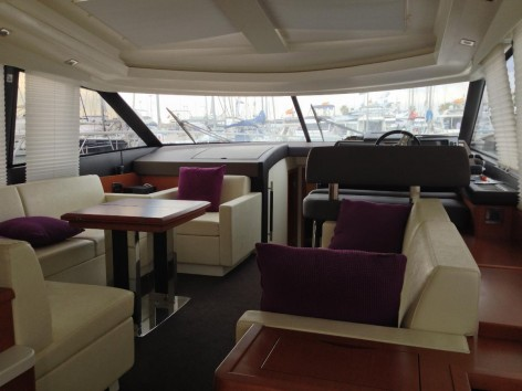 Interior yacht rental Ibiza