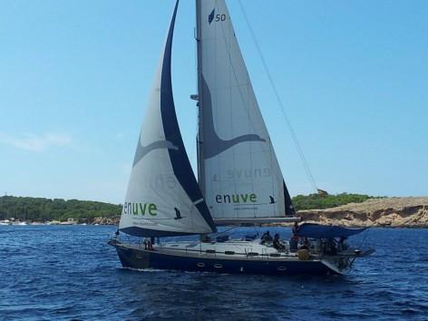 Sailing boat charter Bavaria 50