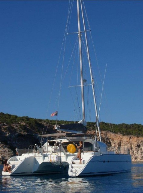 luxury catamaran charter Ibiza