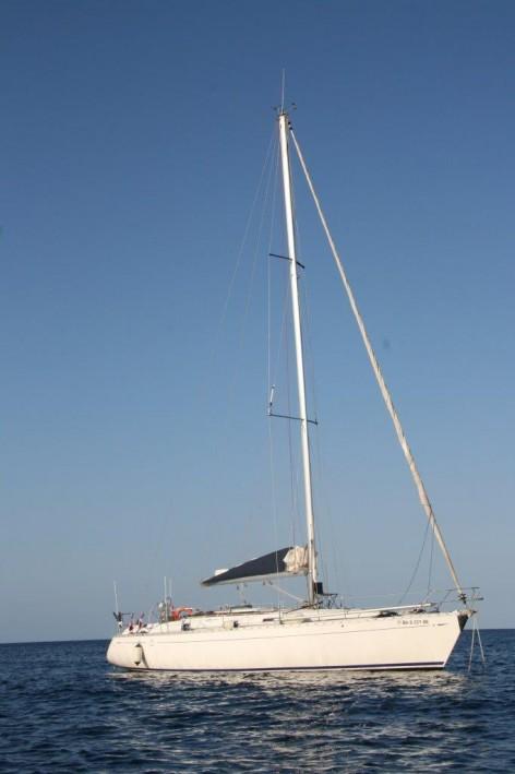 sailing boat charter in Santa Eulalia