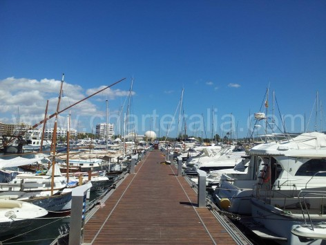 Pier Marina San Antonio Ibiza