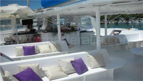 catamaran 50 people ibiza