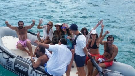 Moli de la sal dinghy service Formentera