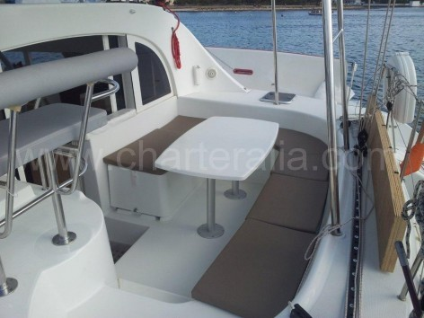 boat rental in ibiza catamaran lagoon 380