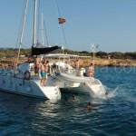catamaran charter ibiza