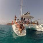catamaran in the balearic islands