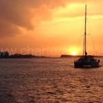 catamaran sunset ibiza