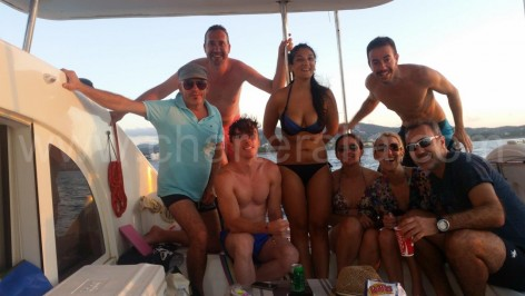ibiza boat trips one day catamaran
