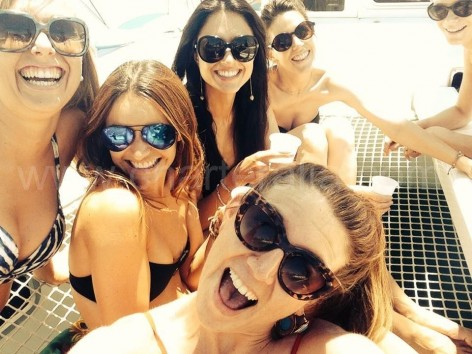 ibiza hen parties on catamaran