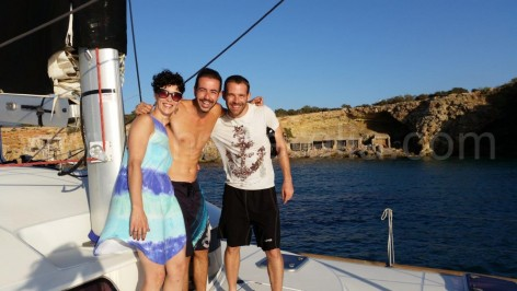 one day ibiza boat hire for couple