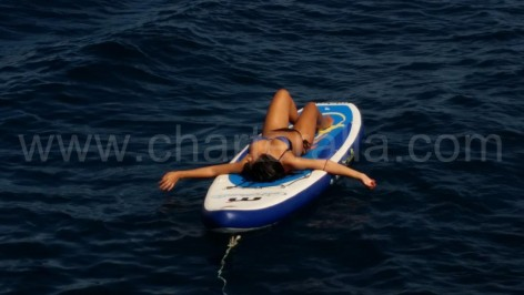 paddle board ibiza
