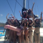 sailing boat ibiza hen weekend