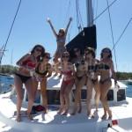 sailing ibiza hen