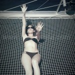 the best place of the catamaran is the net