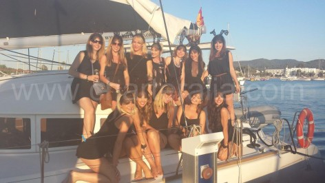 yacht hire ibiza hen do ibiza