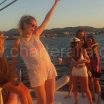 yacht hire sunset ibiza