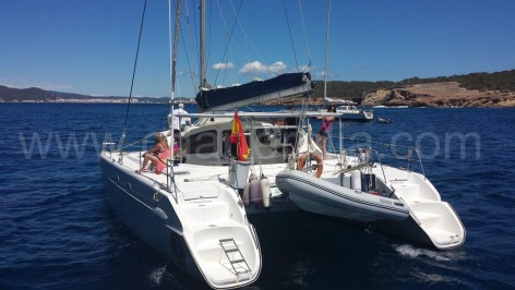 Sterns skippered catamaran Belize 43 Ibiza