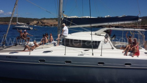 catamaran hire Ibiza FP Belize 43