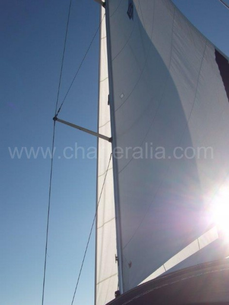 Sails vessel for rent Bavaria Ibiza