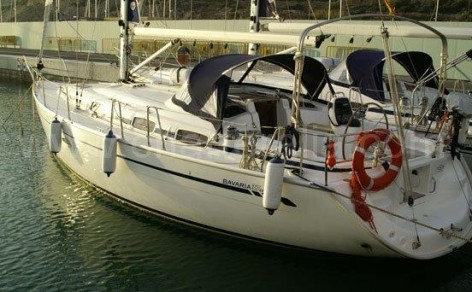 sailing boat for rent in Ibiza Bavaria 37