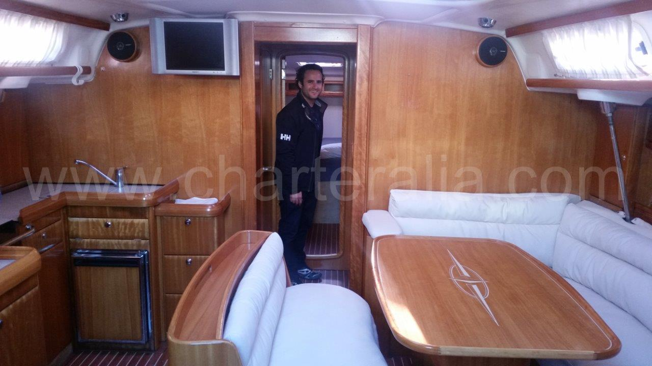 Perfect Interior Design Bavaria 46 Sailing Yacht