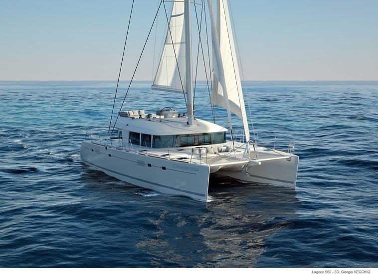 Luxury Lagoon 560 Mega Catamaran Ibiza - CharterAlia boat