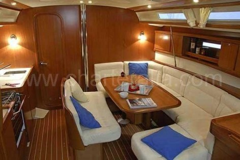 Lounge sailing boat rental ibiza