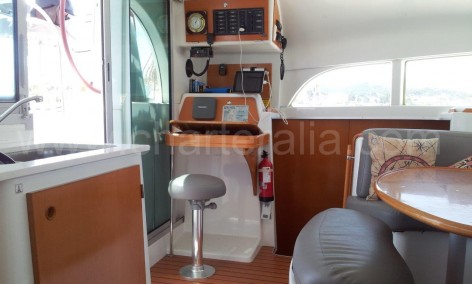 chart table ibiza catamaran rental