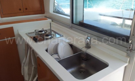 new charter boat galley