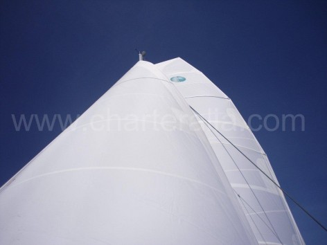 rental catamaran sails