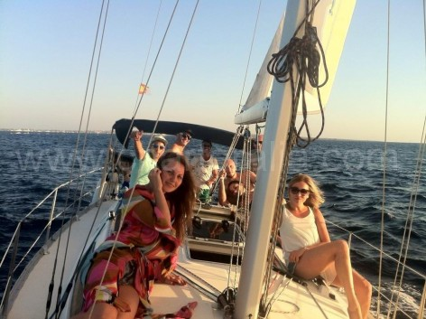 sailing boat Jeanneau Sun Odyssey