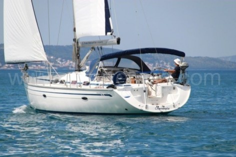 sailing boat hire ibiza Bavaria 46
