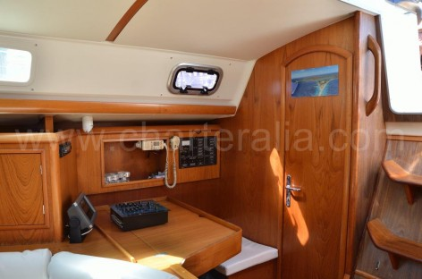 sailing yacht inside