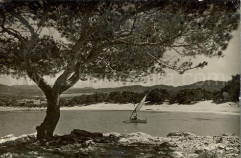 Cala Bassa in the sixties