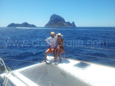 Es Vedra from the boat