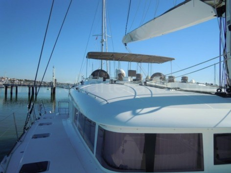 Top deck and outside helm