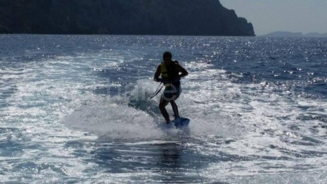 Wake board on Ibiza Go Charteralia