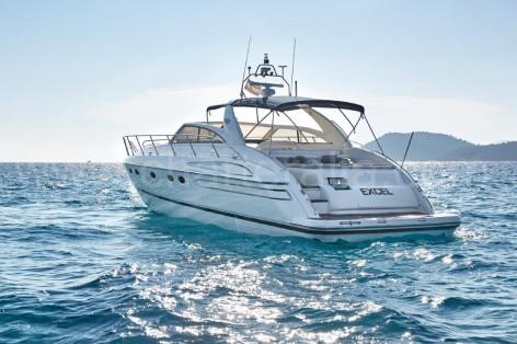 Charteralia Princess V55 in the Mediterranean sea