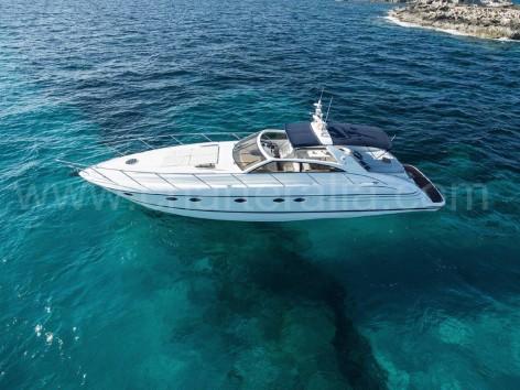 Great looking motor yacht in Ibiza