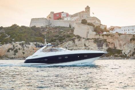 Sunseeker 46 Portofino Ibiza town