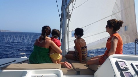 Rental of luxurious catamarans in Ibiza