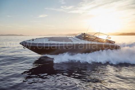 Baia Aqua 54 Ibiza yacht hire