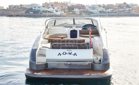 Baia Aqua 54 yacht rental in Ibiza